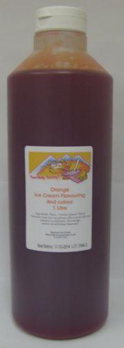 Orange Ice Cream Mix (1 Litre)