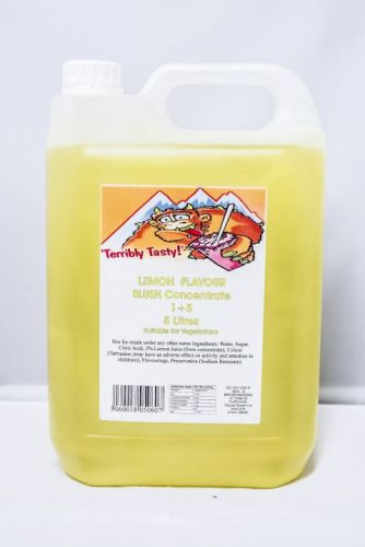 Lemon Slush Syrup (5 Litre)