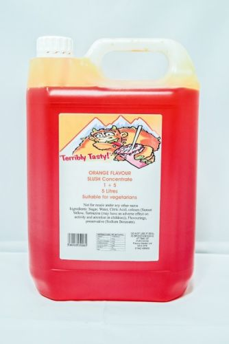 Orange Slush Syrup (4 x 5 Litre)
