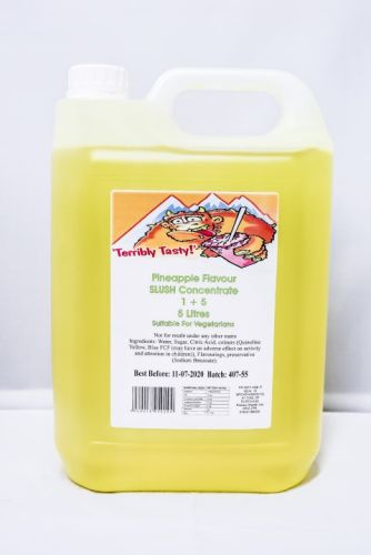 Pineapple Slush Syrup (5 Litre)