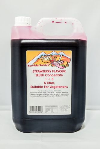 Strawberry Slush Syrup (5 Litre)