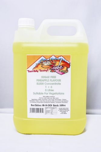 Pineapple Sugar Free Syrup (5 Litre)