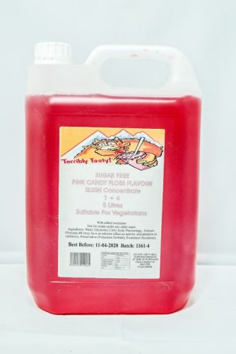 Pink Candy Floss Sugar Free Syrup (2 x 5 Litre)