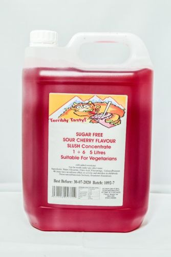 Sour Cherry Sugar Free Syrup (5 Litre)